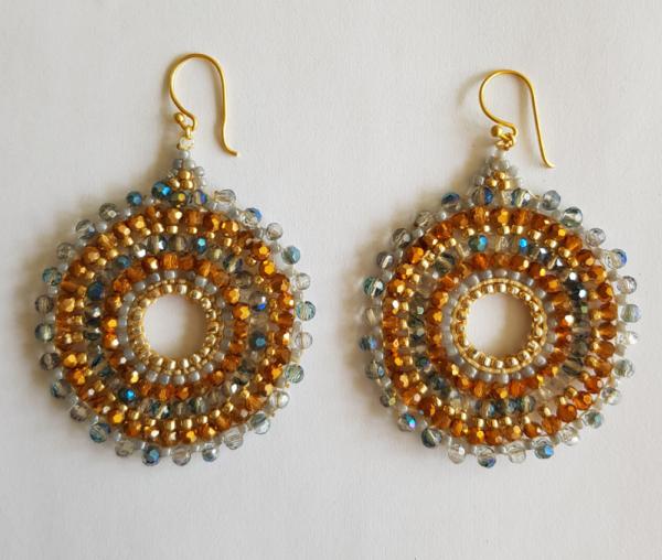gouden ibiza oorbellen