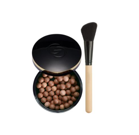 bronzing pearls + kwast