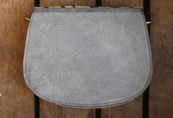 Ronde Animal Bag metallic look